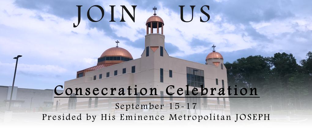 Consecration Weekend